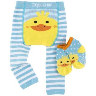 leggings-et-chaussettes-canard-6-12-mois-zoochini-